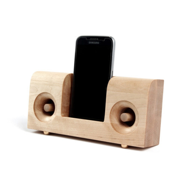 무선충전 우드스피커 Wireless Charging Woodspeaker