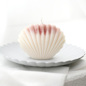 shell candle IVORY 휘기에(무화과)