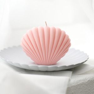 shell candle PINK 피오니(작약)