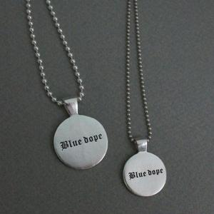 [925silver]circle pendant necklace(s,m) 원형 팬던트 목걸이