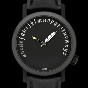 악테오 Writer (42mm) Black
