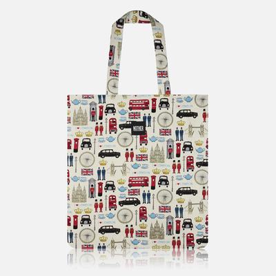 nother London Collection Flat Tote(Icons) / 나더 런던 컬렉션 플랫 토트백