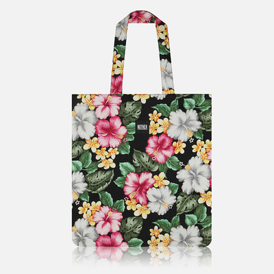nother Hibiscus Flat Tote Bag / 나더 히비스커스 플랫 토트백
