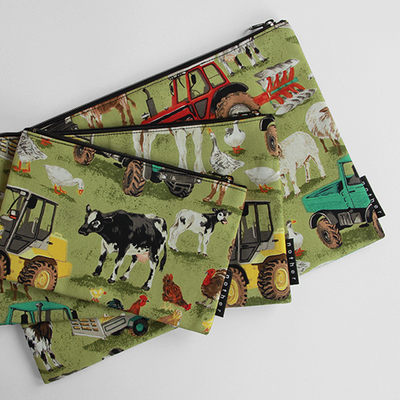 nother Farmyard Pouch / 나더 팜야드 면 파우치