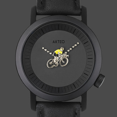 악테오 Cyclist02 (42mm)  Black