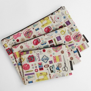 nother Sew Retro Notions Pouch / 나더 레트로 소잉 파우치